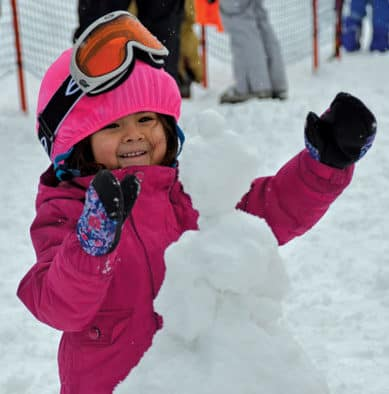 Smiles shared at ski resorts on snowy MLK weekend