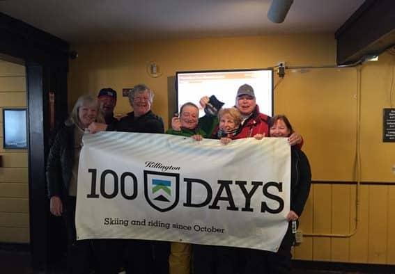 Killington and Shortski reach 100 days of skiing and riding