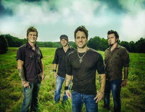 Country artists Parmalee to take to Pickle Barrel stage