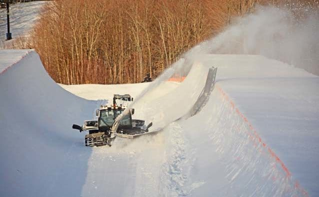 Only superpipe in the East now open at Okemo