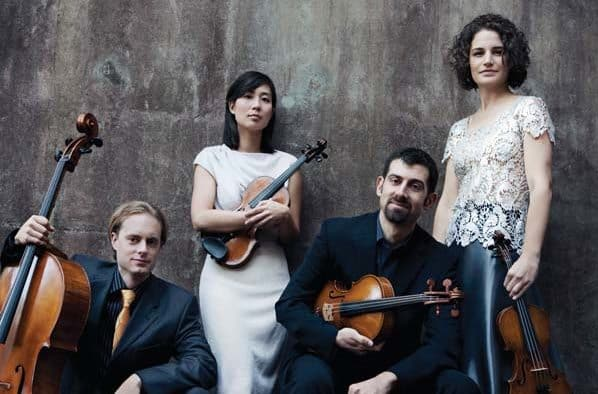 The Chiara String Quartet plays music by heart