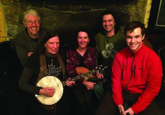 Gypsy Reel gives a night of Celtic music at Slate Valley Museum