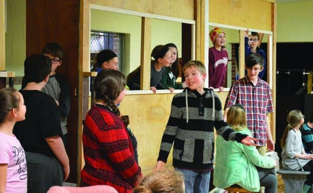 "Rutland Youth Theatre presents ""The Orphan Train"""