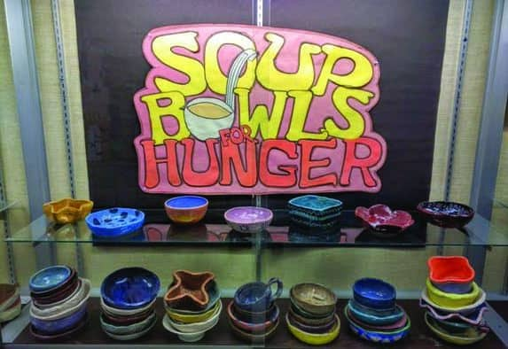 Soup Bowls for Hunger feeds the community in tenth year
