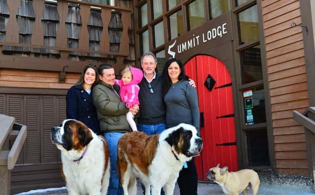 O'Dwyer family officially takes over the reins  at the Summit Lodge in Killington