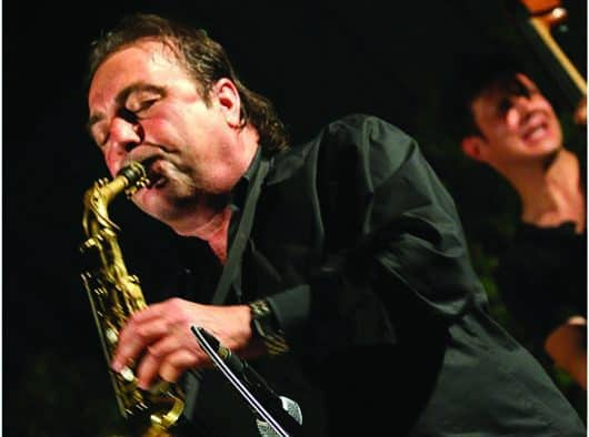 Enjoy an evening of mud and music with Greg Abate Quartet and exhibit opening