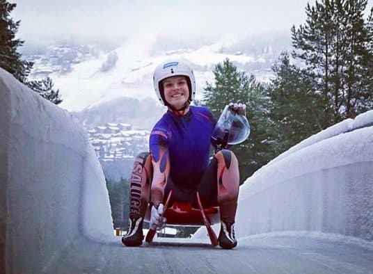 Luge athlete Grace Weinberg takes podium at Junior Nationals