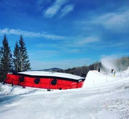 The largest airbag facility on the East coast opens at Killington