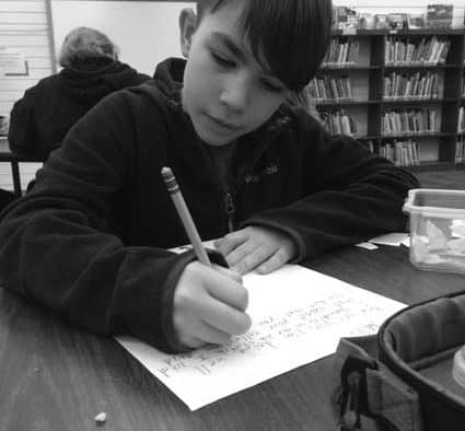 Woodstock seniors and students benefit from  pen-pal letter sharing