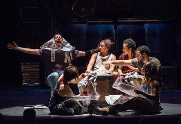 "International percussion sensation ""Stomp"" returns to the Paramount"