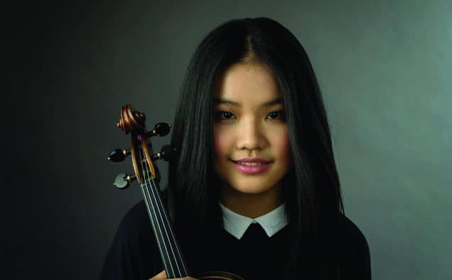 "Final performance ""Passages at the Paramount"" brings 18-year-old violist Ziyu Shen"