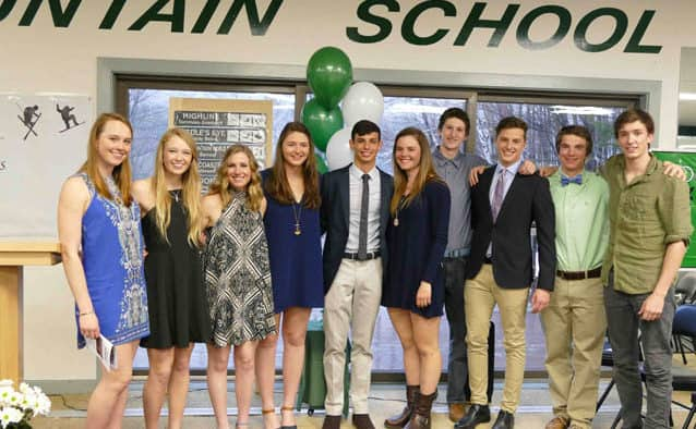 KMS recognizes seniors and winter-term awards