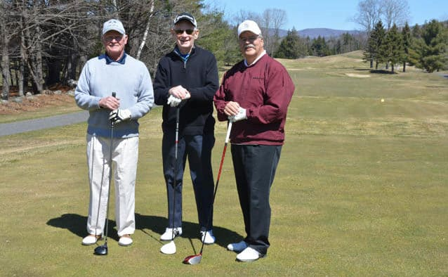 Golf season has started at Okemo Valley Golf Club