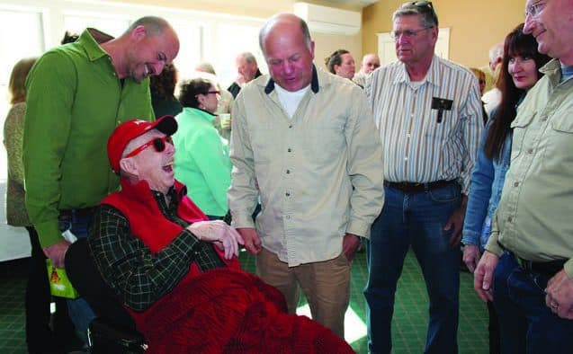 Red Glaze honored as dedicated public servant