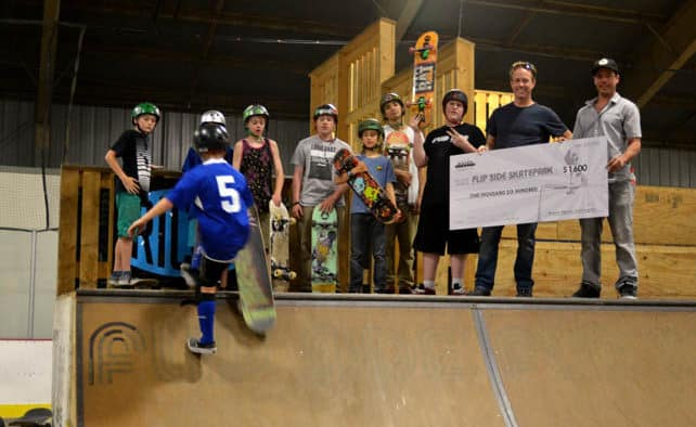 Basin raises money for Flipside Skate Park