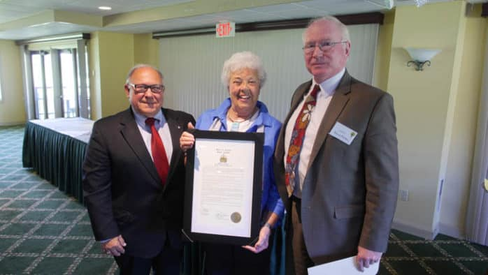 Rutland Garden Club centennial receives state recognition