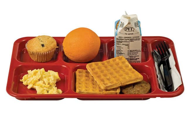 Program touts results in getting kids to eat breakfast
