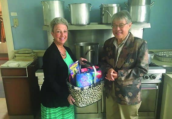 United Church and Ludlow Rotary prepare for Malayaka House dinner