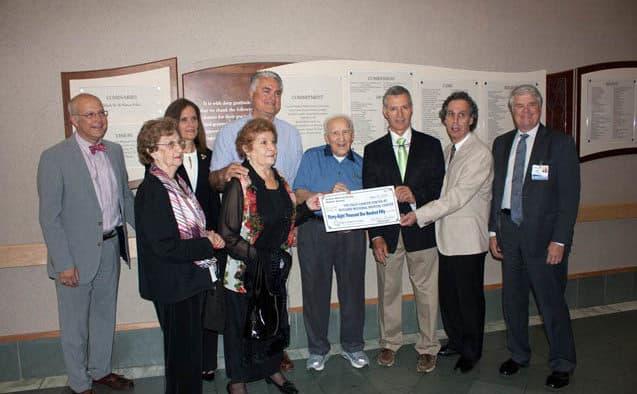 Sicilian-American Society donates to Foley Cancer Center