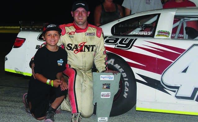 Nick Sweet prevails at Devil's Bowl Speedway