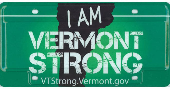 Gov. Shumlin issues executive order allowing Vermonters to continue displaying Vermont Strong license plate