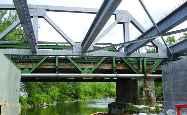 Rutland's historic Ripley Bridge replaced