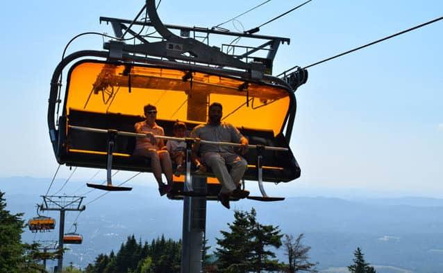 Okemo introduces Sunburst Six Summit chairlift rides