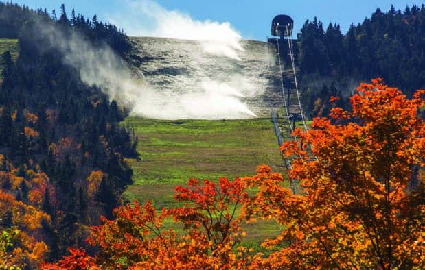 Snowmaking begins at Killington
