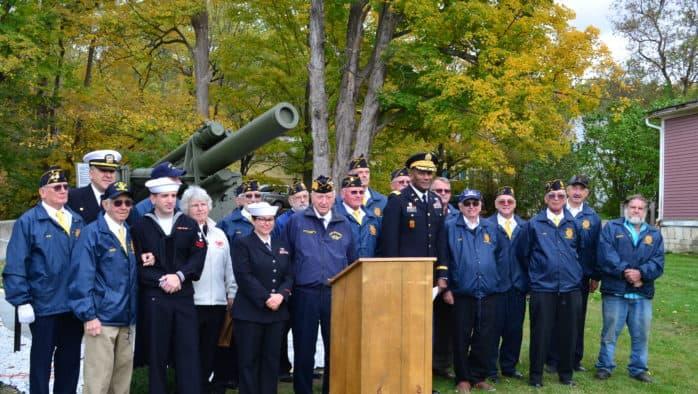 Dedication of Veterans Memorial in Wallingford