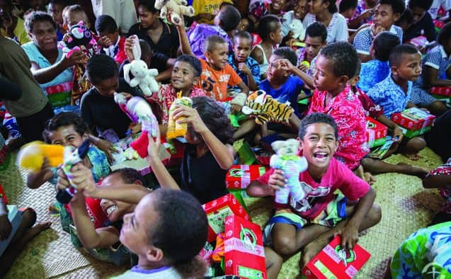 Towns open drop-off locations for global children's Christmas charity