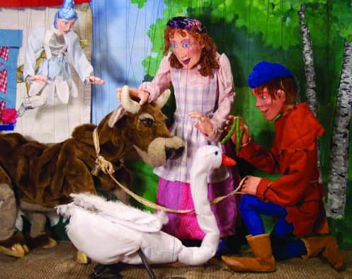 "No Strings Marionettes performs ""Jack and the Beanstock"" at Chandler Music Hall, Saturday"