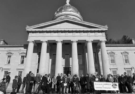 Clergy rally at Statehouse against election-related hate