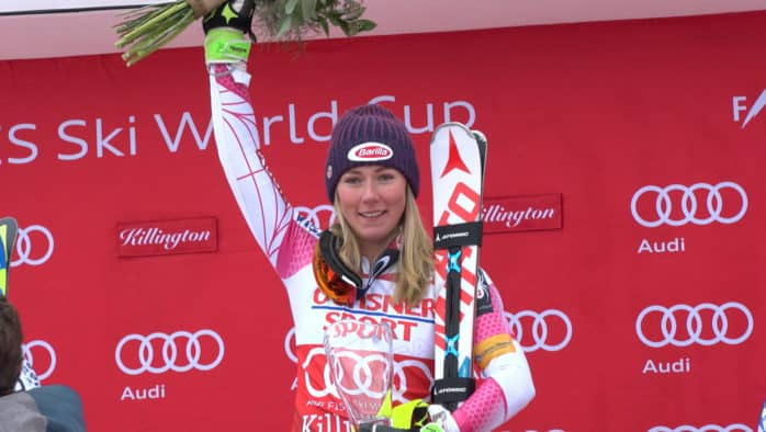 AUDI FIS SKI WORLD CUP AT KILLINGTON
