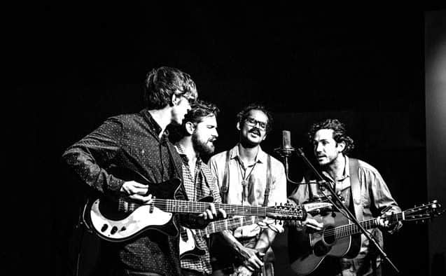 Boston-based quartet Darlingside gives concert at Chandler