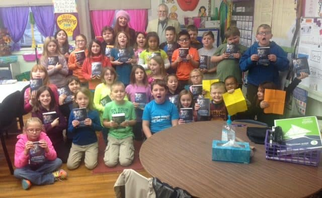 Third graders get the gift of vocabulary