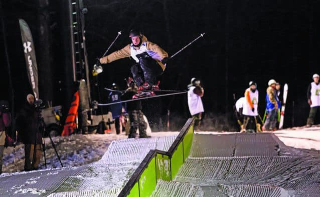 Skiers and riders compete for $25,000 at Rails 2 Riches
