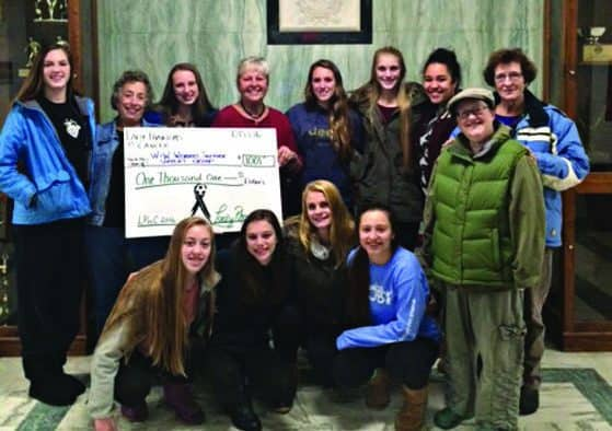 Lady Phantoms raise funds for Woman to Woman