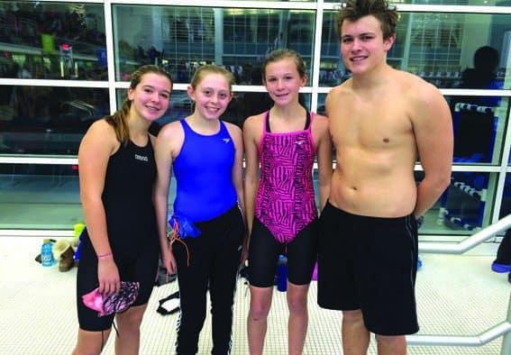 Killington Aquatic Club excels in 2016-17 season