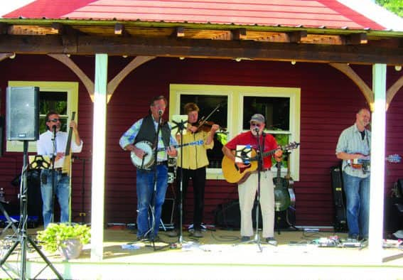 Brandon Music brings song and humor of Snake Mountain Bluegrass
