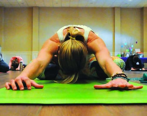 Yoga class sampling on tap in Wallingford