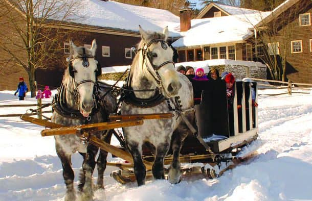 Sleigh Ride Weeks continue at Billings Farm & Museum