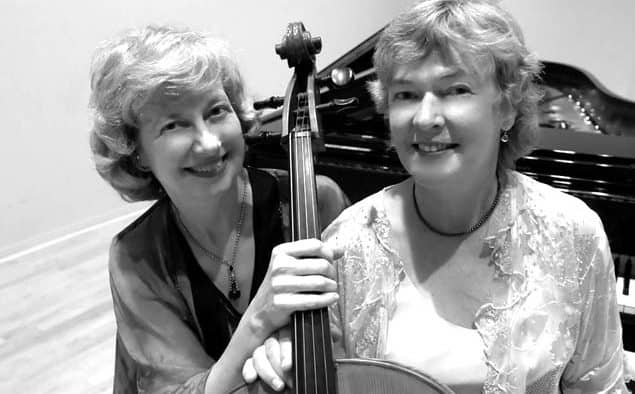 Vermont-based Davydov/Fanning cello/piano duo play Chandler