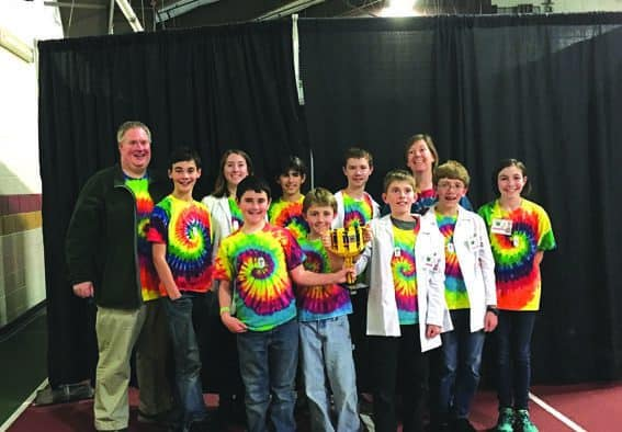 Local student robotics team to battle for world title