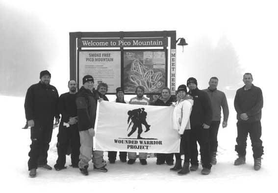 Veterans hit the slopes at Pico Mountain