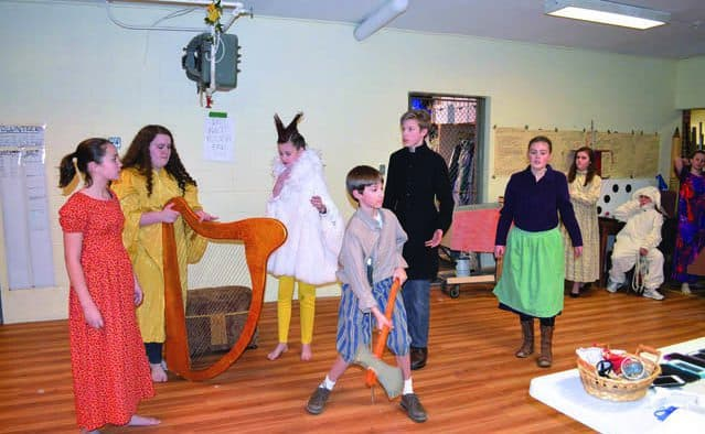 """Rutland youth take on big show, """"Jack and the Giant Beanstalk"""""""