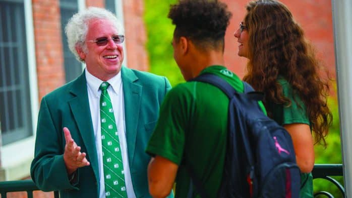 Castleton president to leave in December