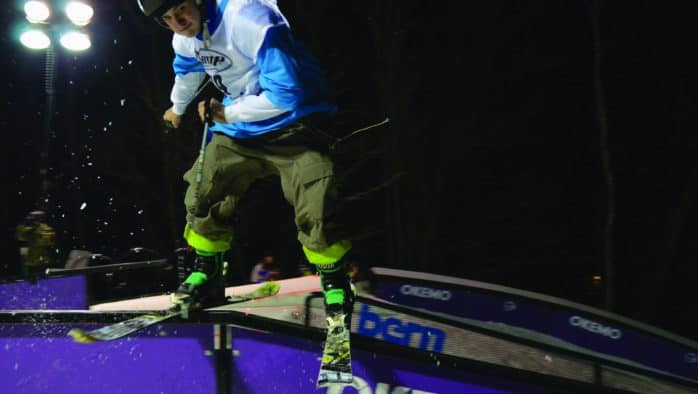 Skiers and riders to shine at Okemo's Light the Night rail jam