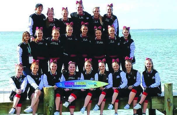 Rutland cheerleaders win first national championship