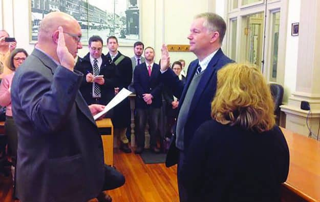 New Mayor Allaire takes reins in Rutland