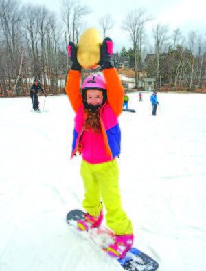 Okemo hides a golden egg, holds Easter activities